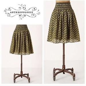 Anthro's Lil monarch butterfly skirt